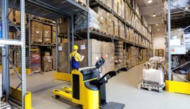 Ware Housing: The Action of Storing Goods in a Warehouse